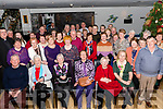Members of the Cromane Active Retirement Group met for their Christmas get-together in Jacks' Seafood Restaurant in Cromane on Sunday.