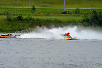 Frame 8: 30-H, 44-S spins out in turn 2   (Outboard Hydroplanes)   (Saturday)