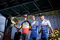 podium:<br /> 1st place: Aimé De Gendt (BEL/Wanty Gobert)<br /> 2nd place: Belgian Champion Tim Merlier (BEL/Corendon Circus)<br /> 3th place: Timothy Dupont (BEL/Wanty Gobert)<br /> <br /> <br /> Antwerp Port Epic 2019 <br /> One Day Race: Antwerp > Antwerp 187km<br /> <br /> ©kramon