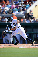 Detroit Tigers infielder Ian Kinsler (3) during a spring training game against the St. Louis Cardinals on March 3, 2014 at Joker Marchant Stadium in Lakeland, Florida.  Detroit defeated St. Louis 8-5.  (Mike Janes/Four Seam Images)
