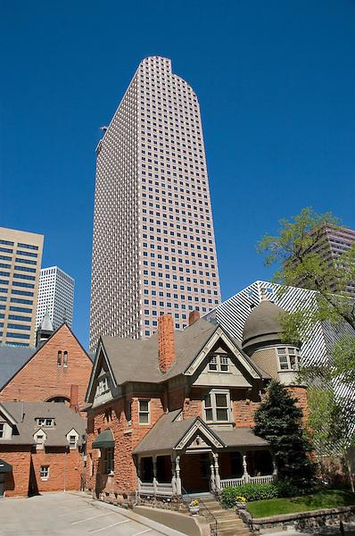 Schleier House and Cash Register Building, Denver, Colorado, USA John offers private photo tours of Denver, Boulder and Rocky Mountain National Park.