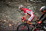 Cyril Lemoine (FRA) Cofidis during Stage 2 of the 2018 Artic Race of Norway, running 195km from Tana to Kjøllefjord, Norway. 17th August 2018. <br /> <br /> Picture: ASO/Rune Dahl | Cyclefile<br /> All photos usage must carry mandatory copyright credit (© Cyclefile | ASO/Rune Dahl)