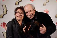 Montreal (Qc) CANADA, September 9, 2007 -<br /> Louise Forestier,Julien Poulin,<br /> Gala des Gemeaux, Palais des Congres de Montreal.<br /> <br /> photo : Pierre Roussel (c)