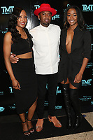 MIAMI, FL - FEBRUARY 19: Shantee Wright, P-Reala and Mena Wright attend Floyd Mayweather's 44th futuristic Birthday Party at Casablanca on the Bay on February 19, 2021 in Miami, Florida. Photo Credit: Walik Goshorn/Mediapunch