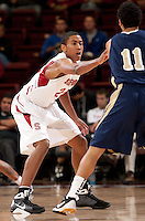 STANFORD, CA - NOVEMBER 10:  Josh Huestis of the Stanford Cardinal during Stanford's 87-56 victory over Cal State Monterey Bay on November 10, 2010 at Maples Pavilion in Stanford, California.