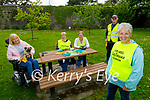 Members of Listowel Tidy Towns sitting and enjoying their new benches in the park on Monday. Front right: Julie Gleeson (Vice Chairperson). Back l to r: Jackie Barrett Madigan, Mary Hanlon, Colette Foran and Michael Cronin.