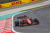 9th October 2021; Formula 1 Turkish Grand Prix 2021 Qualifying sessions at the Istanbul Park Circuit, Istanbul;   16 LECLERC Charles mco, Scuderia Ferrari SF21