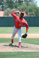 Darrien Williams - Los Angeles Angels 2019 extended spring training (Bill Mitchell)