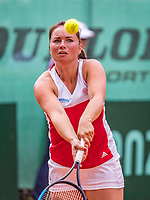 The Hague, Netherlands, 09 June, 2018, Tennis, Play-Offs Competition, Nicole Thyssen (NED)<br /> Photo: Henk Koster/tennisimages.com