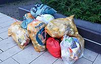 Nederland  Nijmegen  - September 2020 .  Gescheiden afval.   Foto : ANP/ Hollandse Hoogte / Berlinda van Dam