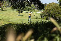 STANFORD, CA - APRIL 23: Katherine Zhu at Stanford Golf Course on April 23, 2021 in Stanford, California.