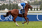 August 15, 2021, Deauville (France) - Midtown (7) with William Buick abroad at the Prix du Haras de Fresnay-Le-Buffard Jaques Le Marois (Gr I) at Deauville-La Touques Racecourse on August 15 in Deauville. [Copyright (c) Sandra Scherning/Eclipse Sportswire)]