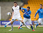 St Johnstone v Inverness Caley Thistle...02.05.15   SPFL<br /> Greg Tansey and Danny Swanson<br /> Picture by Graeme Hart.<br /> Copyright Perthshire Picture Agency<br /> Tel: 01738 623350  Mobile: 07990 594431