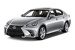 2016 Lexus GS 200t 4 Door Sedan Angular Front stock photos of front three quarter view