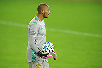 WASHINGTON, DC - OCTOBER 28: Eloy Room #1 of Columbus Crew SC during a game between Columbus Crew and D.C. United at Audi Field on October 28, 2020 in Washington, DC.