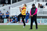Katherine Brunt, Trent Rockets in action during London Spirit Women vs Trent Rockets Women, The Hundred Cricket at Lord's Cricket Ground on 29th July 2021