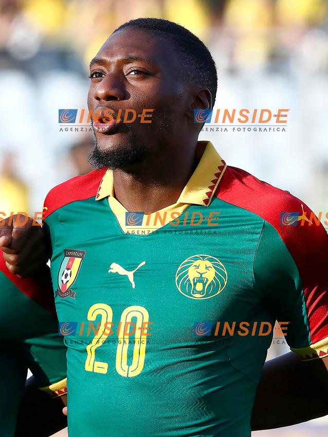 Cameroon's Karl Toko Ekambi during international friendly match. June 13,2017.(ALTERPHOTOS/Acero/Insidefoto)<br /> Camerun - Colombia <br /> Foto Acero/Alterphotos/Insidefoto <br /> ITALY ONLY