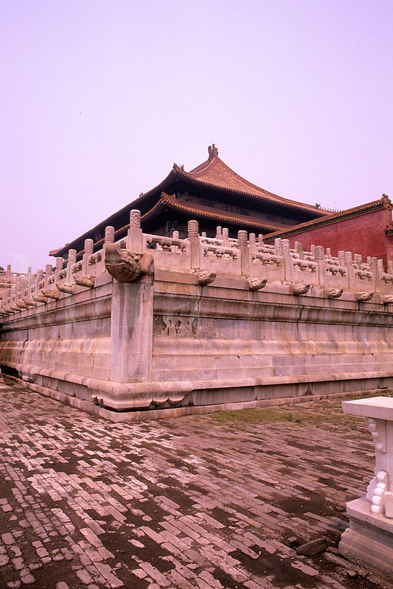 Architecture of the Forbidden City in Beijing Chin