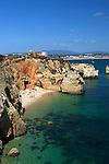 Portugal, Algarve, Lagos: Ponta da Piedade, Praia do Pinhao