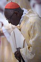 Cardinal Robert Sarah. Pope Francis mass. the Solemnity of Epiphany at St Peter's basilica at the Vatican. January 6, 2018