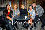 Anna Foley, Rebecca Stack, Christina Foley, Sarah Griffin and PJ Foley from Tralee enjoying the evening in Benners Hotel on Saturday.