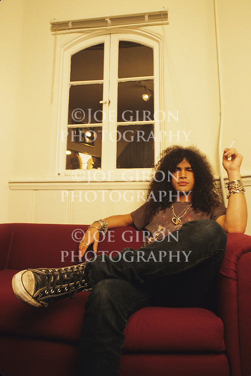 Various portrait sessions and live photographs of the rock band, Guns' & Roses