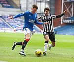 06.03.2021 Rangers v St Mirren: Nathan Patterson and Ryan Flynn