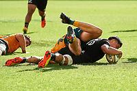 5th September 2021; Optus Stadium, Perth, Australia: Bledisloe Cup international rugby, Australia versus New Zealand;  Anton Lienert-Brown of the All Blacks during the 3rd Bledisloe Cup test match at Optus Stadium