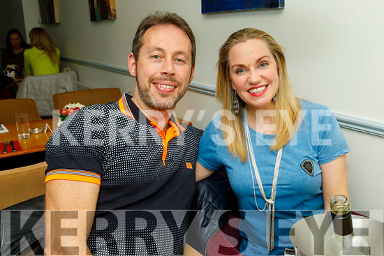 Wesley and Irene Hanbidge from Tralee celebrating their 4th anniversary in Sforno on Friday.