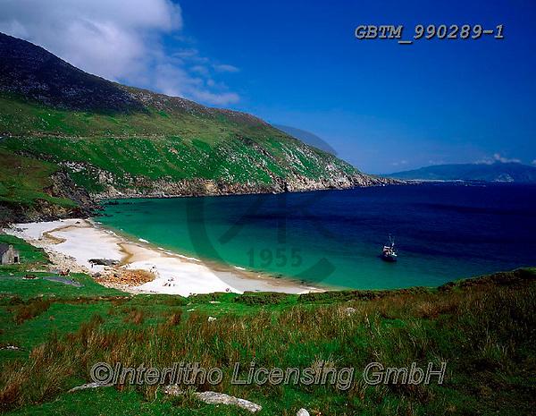 Tom Mackie, LANDSCAPES, LANDSCHAFTEN, PAISAJES, FOTO, photos,+4x5, 5x4, Achill Island, bay, beach, beaches, boat, boats, coast, coastal, coastline, coastlines, County Mayo, Eire, EU, Euro+pa, Europe, horizontal, horizontally, horizontals, Ireland, Irish, large format, Moyteoge Head, ocean, solitary, solitude, tu+rquiose,4x5, 5x4, Achill Island, bay, beach, beaches, boat, boats, coast, coastal, coastline, coastlines, County Mayo, Eire,+EU, Europa, Europe, horizontal, horizontally, horizontals, Ireland, Irish, large format, Moyteoge Head, ocean, solitary, soli+,GBTM990289-1,#L#, EVERYDAY ,Ireland