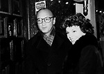 Neil Simon and Marsha Mason Attending a Broadway show in New York City.<br />October 1979