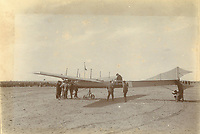 Photos showing the first ever air race to be held in Africa have come to light 110 years later