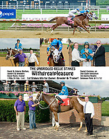It was Withgreatpleasure that we put together this custom winphoto! It was the 1st stakes win for the Owner, trainer & breeder!!