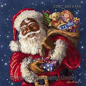 Marcello, CHRISTMAS SANTA, SNOWMAN, WEIHNACHTSMÄNNER, SCHNEEMÄNNER, PAPÁ NOEL, MUÑECOS DE NIEVE, paintings+++++,ITMCXM1436A,#x# ,Afro American