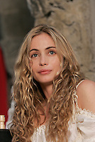 2004 file photo - Montreal, Quebec, CANADA - Press Conference with Emmanuelle Beart on the set of THE FOUR MUSKETEER