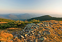 Early evening light captured from the westernmost four thousand footer, Mt. Moosilauke.