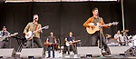 BALTIMORE, MD - MAY 20: Country group High Valley, perform in the infield on Preakness Day at Pimlico Race Course on May 20, 2017 in Baltimore, Maryland.(Photo by Sue Kawczynski/Eclipse Sportswire/Getty Images)