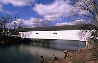 Covered bridge in Elizabethtown, Tennessee, USA
