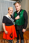 "Jill and JJ Coffey ready to dance at the Tralee Musical Society ""Strictly Come Dancing"" Mr and Mrs in Ballyroe Heights Hotel on Saturday."