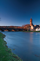 Peebles and the River Tweed, Scottish Borders<br /> <br /> Copyright www.scottishhorizons.co.uk/Keith Fergus 2012 All Rights Reserved
