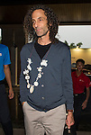 Kenny G arrives at the Mission Hills Celebrity Pro-Am on 23 October 2014, in Haikou, China. Photo by Aitor Alcalde / Power Sport Images
