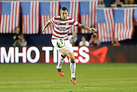 U.S defender Geoff Cameron (20) in action..USMNT defeated Guatemala 3-1 in World Cup qualifying play at LIVESTRONG Sporting Park, Kansas City, KS.