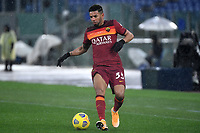 Bruno Peres of AS Roma during the Serie A football match between AS Roma and UC Sampdoria at Olimpico stadium in Roma (Italy), January 3rd, 2021. Photo Andrea Staccioli / Insidefoto
