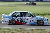 Final round of the 1991 British Touring Car Championship. #77 Nick Baird (GBR). TechSpeed Racing. BMW M3.