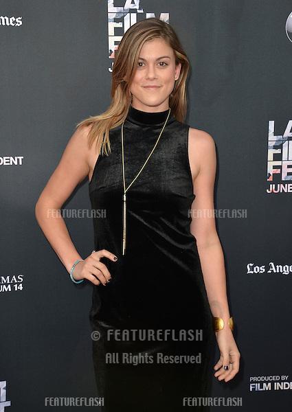 "Lindsey Shaw at the LA Film Festival premiere of MTV's ""Scream"" at the Regal Cinema LA Live. <br /> June 14, 2015  Los Angeles, CA<br /> Picture: Paul Smith / Featureflash"