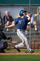 Villanova Wildcats left fielder Adam Goss (3) during a game against the Dartmouth Big Green on February 27, 2016 at South Charlotte Regional Park in Punta Gorda, Florida.  Villanova defeated Dartmouth 14-1.  (Mike Janes/Four Seam Images)
