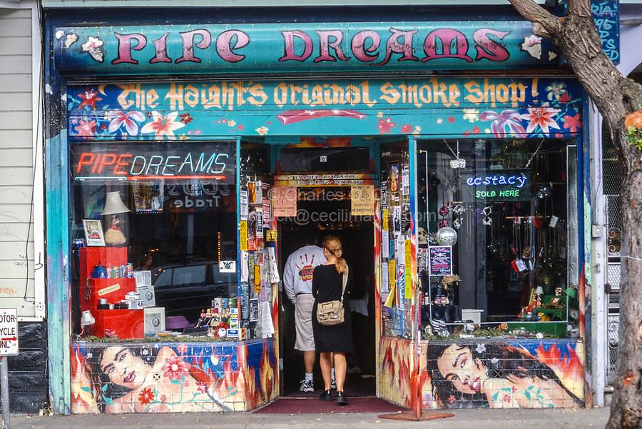 San Francisco, California, USA. Haight-Ashbury District Shop.