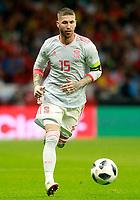 Spain's Sergio Ramos during international friendly match. March 27,2018.(ALTERPHOTOS/Acero) /NortePhoto.com NORTEPHOTOMEXICO
