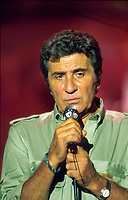 """Gilbert Becaud """"Olympia Concert 1991"""" <br /> Credit : Davy/DALLE"""