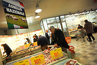 Roma.Ipermercato Coop Casilino.Coop Hypermarket Casilino. Roma..